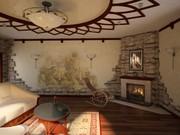 Дизайн интерьеров квартир,  офисов и т.д Низкие цены
