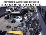 Запчасти на легковые автомобили иностранного производства.