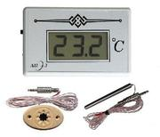 ТЭС-2Pt -  электронный термометр с выносным датчиком